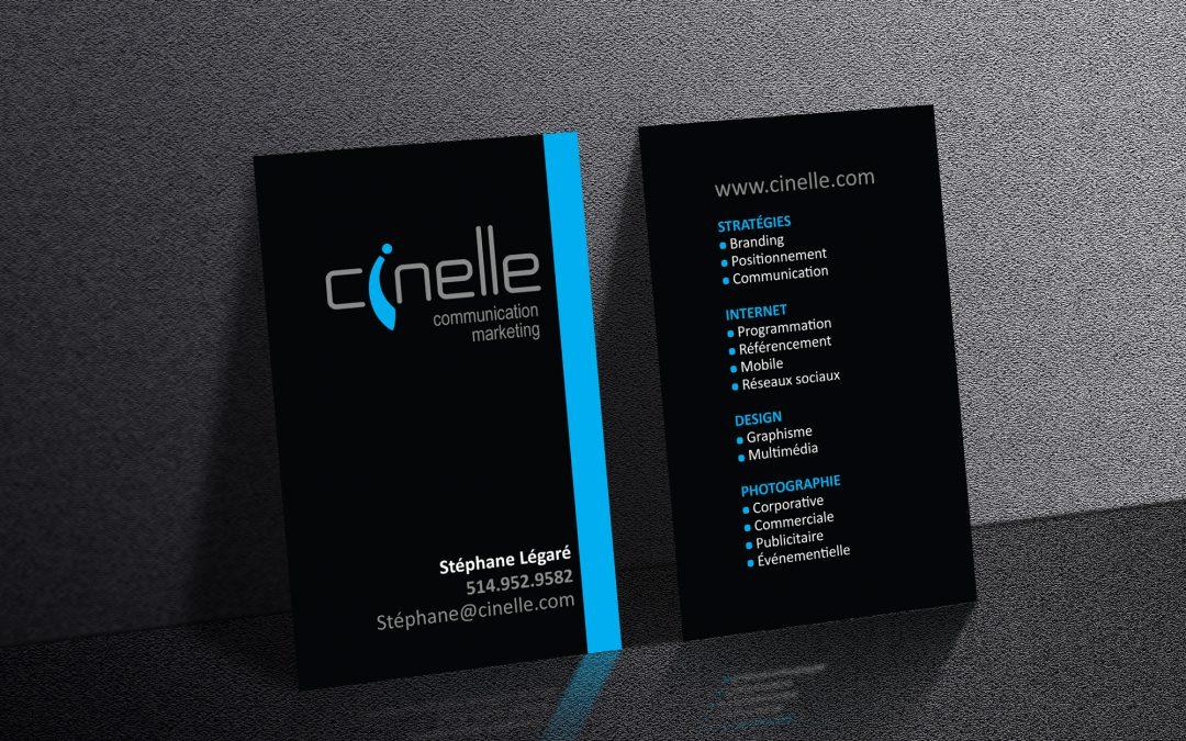 Carte Cinelle Communication