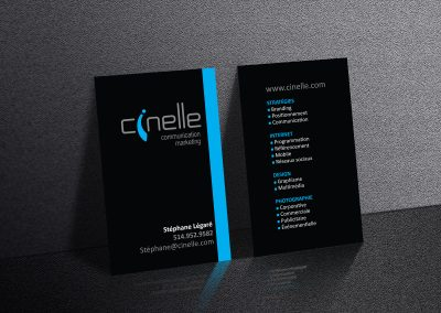 Carte Cinelle Communication