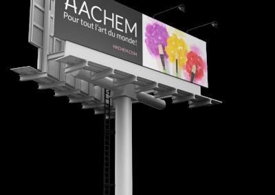 Affichage Hachem
