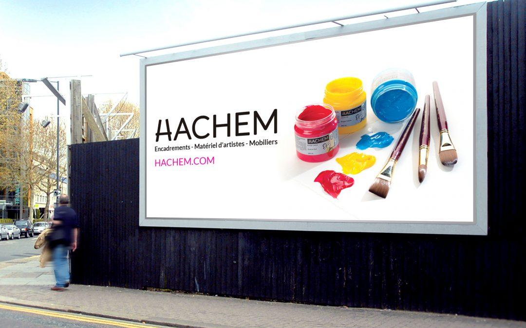 Affichage grand format Hachem 3