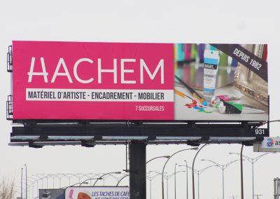 Affichage grand format Hachem 4