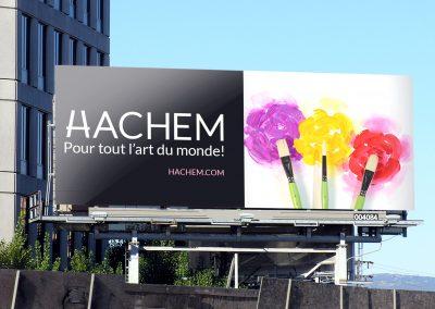 Affichage grand format Hachem 1